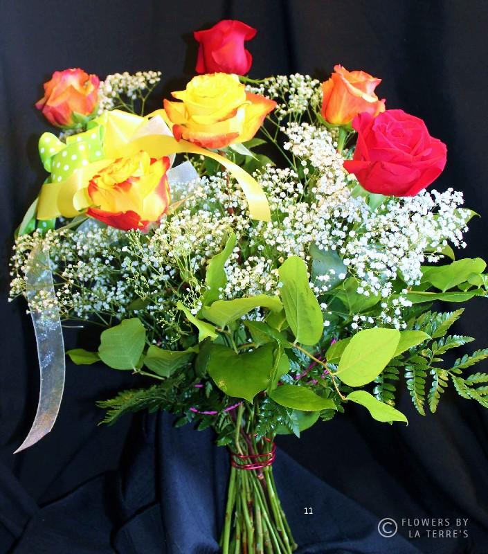 European Hand-Tied Roses